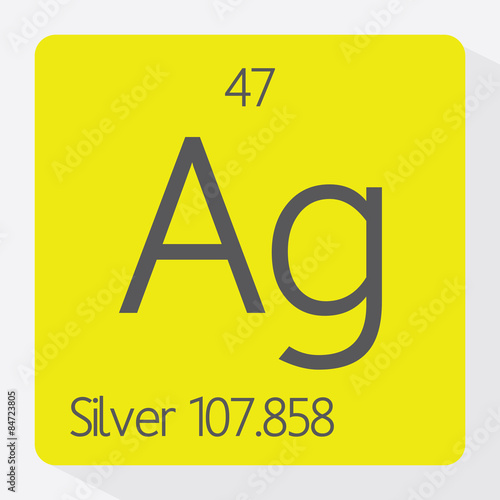 Periodic Table Silver Buy This Stock Vector And Explore Similar