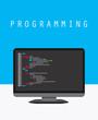 Programming and coding concept website development