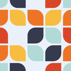 FototapetaSeamless geometric vintage wallpaper vector illustration