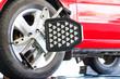 Car wheel test