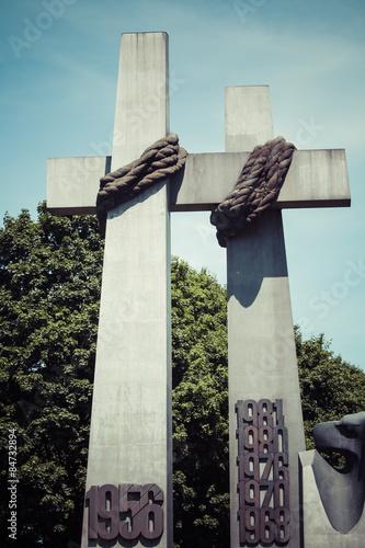 Fotografie, Obraz  Monument to the Victims of June 1956 in Poznan. Poland