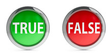 Icons True & False With Highli...