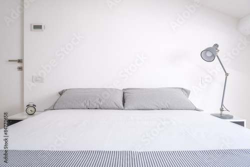 Fotografie, Obraz white bedroom