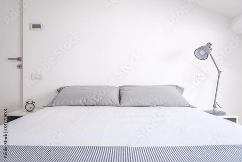 Fotografie, Obraz white bedroom
