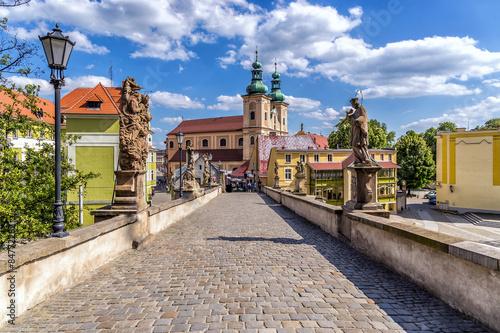 Fototapeta Praga most-karola-w-pradze