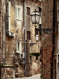 Old narrow street in Zagreb, Croatia - 84782807