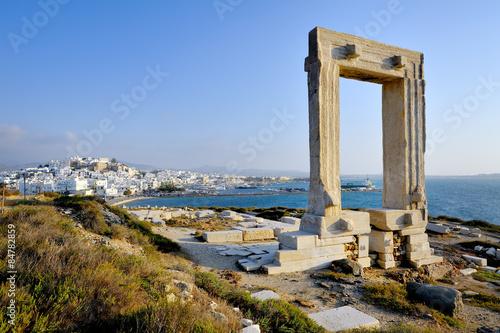 Stampa su Tela Portara of Naxos