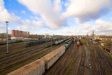 Commercial transportation by rail
