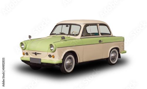 Fotografia alter ddr oldtimer, trabant 501, trabbi, vintage classic car