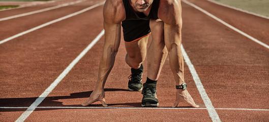 Fototapeta Sport. Runner.
