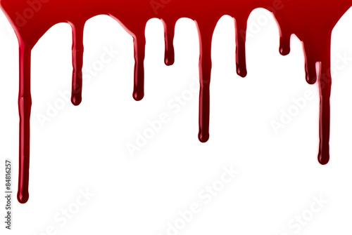 Cuadros en Lienzo Blood pouring