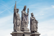 Beautiful Statue On Charles Bridge