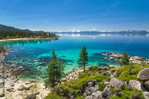 Photo Stands Blue jeans Lake Tahoe