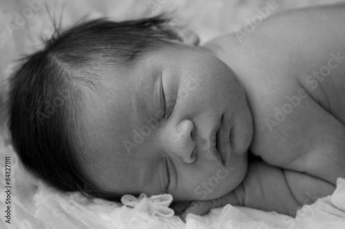 Valokuva  Sleeping Baby Boy Face