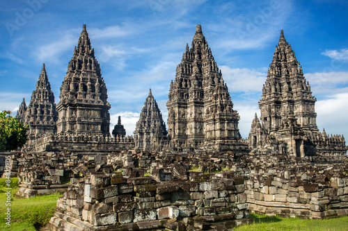 Aluminium Prints Indonesia Prambanan temple near Yogyakarta on Java island, Indonesia
