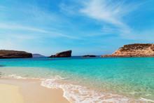The Blue Lagoon On Comino Island, Malta