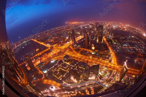 Fototapeta dubai downtown obraz na płótnie