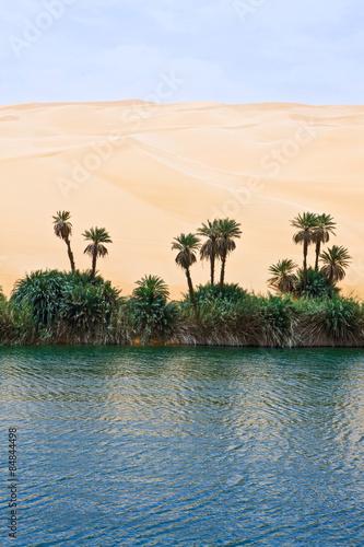 Libya,Sahara desert,the Ubari lakes area - 84844498