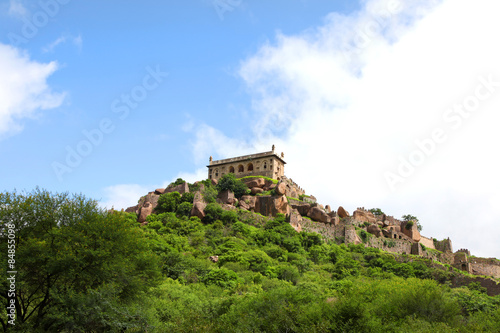Photo  Historic Golkonda fort in Hyderabad, India.