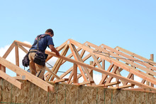 Layout And Installation Of Roof Rafters