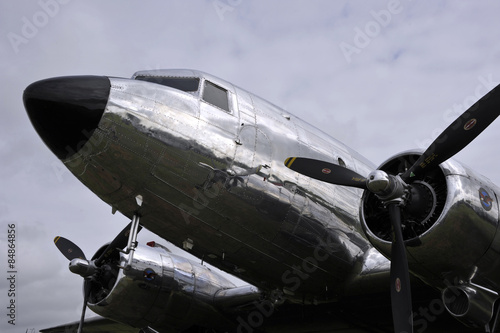Avion DC3 Vintage Wallpaper Mural