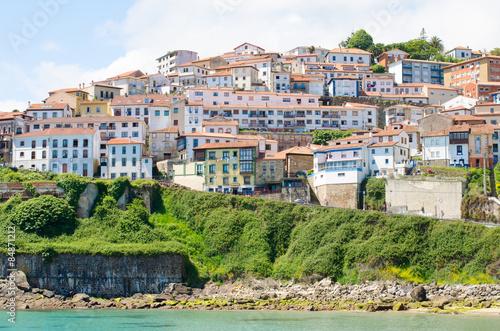 Lastres, seaside village of Asturias, Spain.