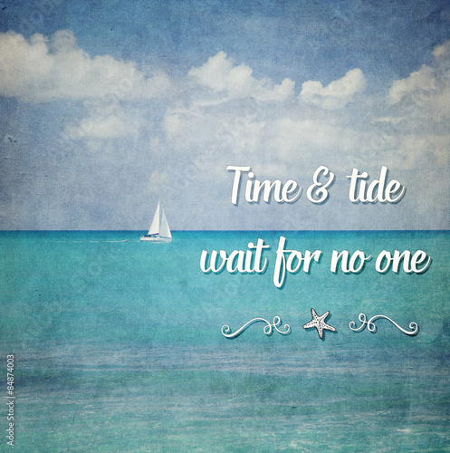 time tide wait for no one Time and tide waits or wait [duplicate] up vote 4 down vote favorite this question already has an answer here: time and tide wait for no man 6 answers in my grammar.