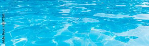 Panorama, pool water Wallpaper Mural