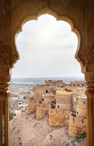 Poster Fortification Jaisalmer fort view