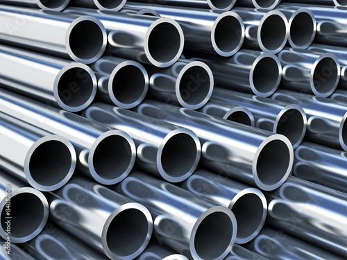 Fotografia  Steel tubes
