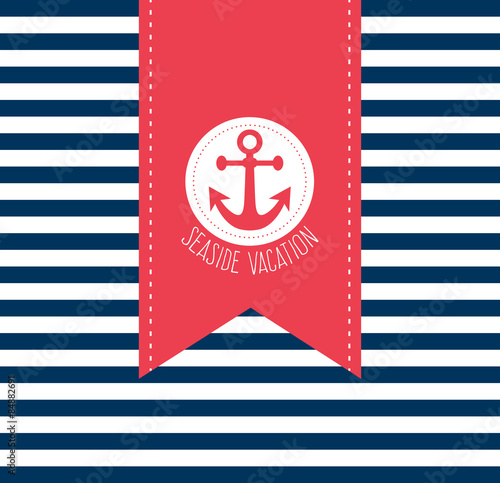 Fototapeta Sailor Theme obraz