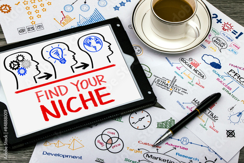 find your niche Wallpaper Mural