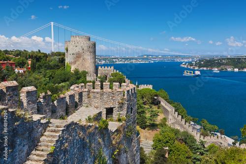 Obraz na plátne Rumeli Fortress at Istanbul Turkey