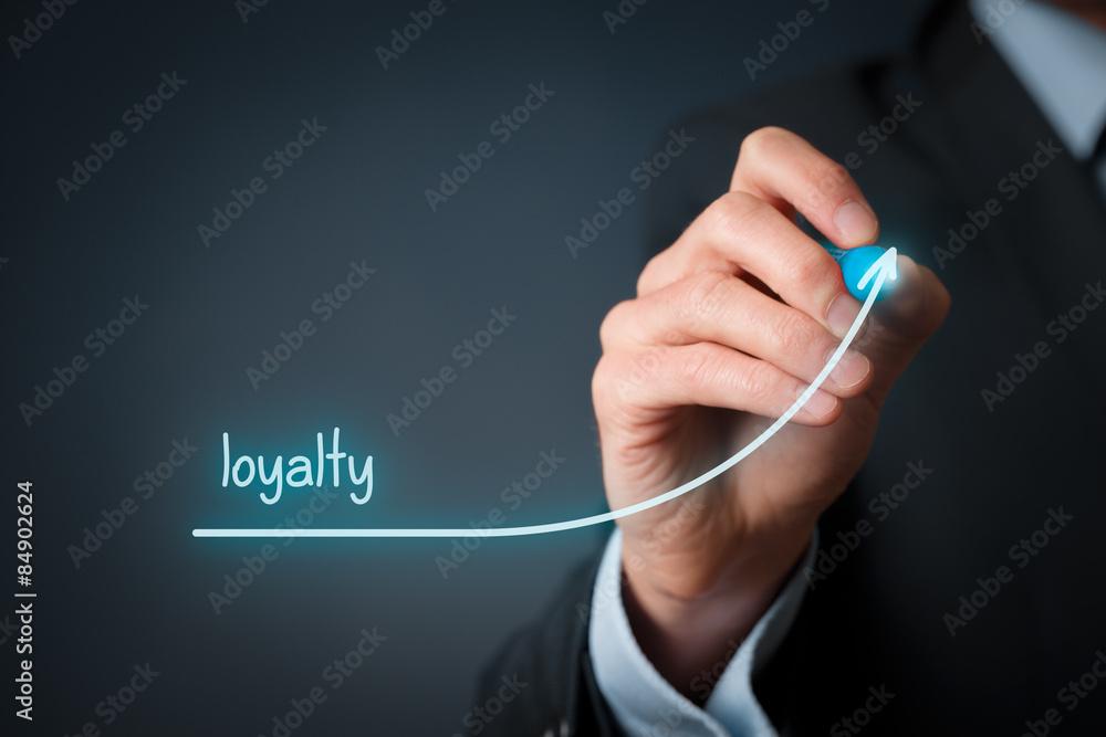 Fototapeta Increase loyalty