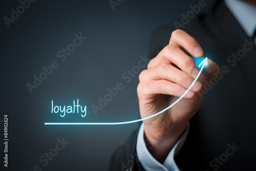 Fototapeta Increase loyalty