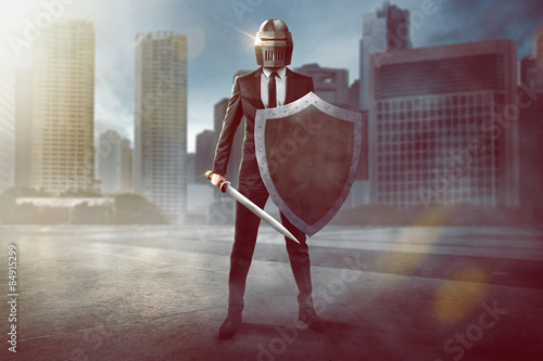 Fototapeta Business Warrior