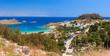 Lindos town. Rhodes island, Greece.