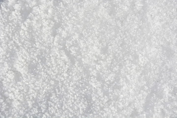 Snow surface at sunny day, winter wallpaper