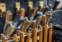 Vintage Industrial Levers