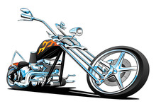 Custom American Chopper Motorc...