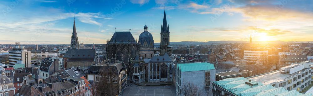 Fototapety, obrazy: aachen panorama