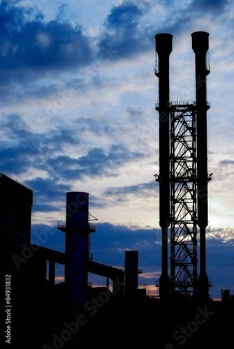 Staande foto Industrial geb. industrial