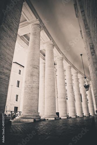 Columns in Vatican - 84933077