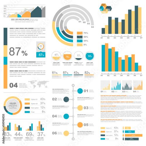 Photo  Infographic elements