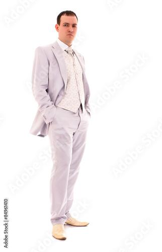 Fototapeten womenART young man in wedding suit
