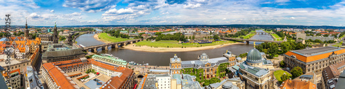 Fotografía  Panoramic view of Dresden