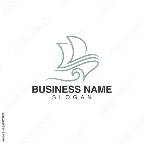 Boat Template | Sailing Boat And Yachts Marine And Oceanic Logo Template Set