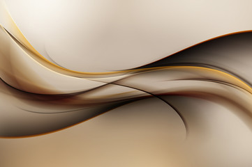 FototapetaAmazing Brown Modern Abstract Background