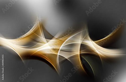 Elegancki lekki złoty abstrakcyjny wzór