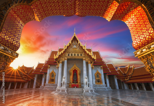 Spoed Foto op Canvas Bedehuis The Marble Temple,